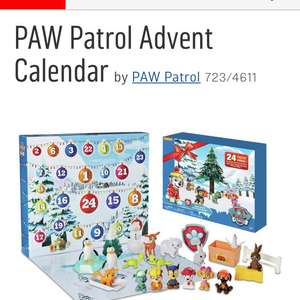 Paw Patrol Toy Advent Calendar only £14.99 at Argos