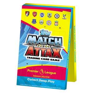 Match Attax 2017/18 Advent Calendar - £10 @ Smyths