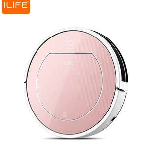 ILIFE V7S Pro Smart Robotic Vacuum Cleaner Cordless Sweeping Cleaning Machine Timing Function IR Sensor Automatic Mop - Rose Gold - EU PLUG £109.20 Delivered with code (UK Warehouse) @ Gamiss