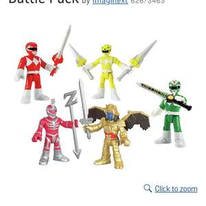 Imaginext Power Rangers Battle Pack £10 at Argos