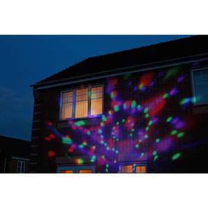 Wilko Multicoloured LED Projector Light was £45 now £15 instore / Free C+C from store @ Wilko