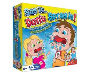 Say it don't spray it family board game - £3.99 @ Home Bargains