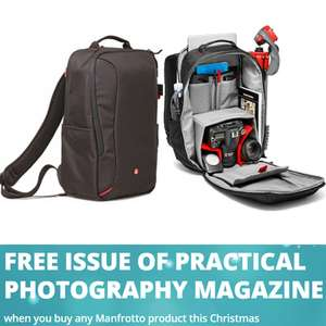 Manfrotto MB BP-E Essential DSLR Backpack + Free Issue of Practical Photography £26.99 @ Currys