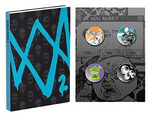 Watch Dogs 2 Hardcover Collector's Edition Guide £8.75 (Prime / £11.74 non Prime) @amazon.co.uk