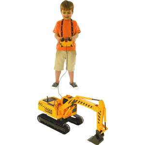 Fast Lane Remote Control Mega Digger was £69.99 now £29.98 Del w/code @ Toys R Us (more in OP)