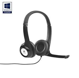 Logitech USB headphones £16.47 (prime) / £18.46 (non-prime) @ Amazon