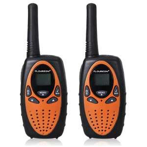 FLOUREON 8 CHANNEL LICENCE FREE PMR WALKIE TALKIE RADIOS, £6.39 DELIVERED @ GEARBEST EU, 2-3 DAY DELIVERY