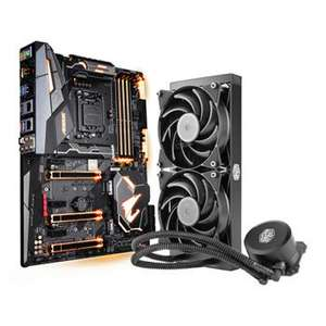 AORUS Z370 Gaming 7 Motherboard + Free CM MasterLiquid Lite 240 Cooler - £244.99 @ Scan