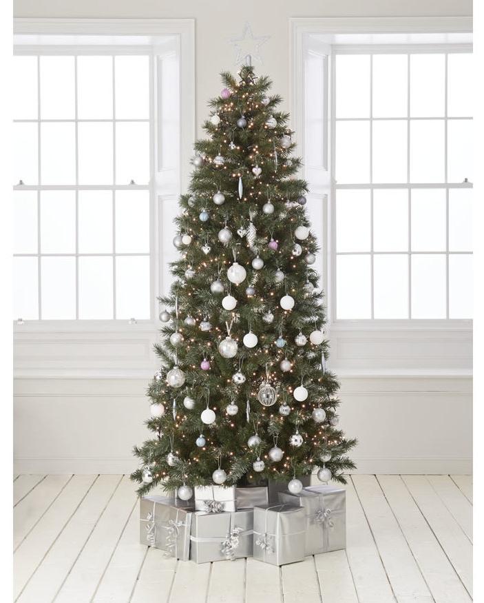 Wilko 7ft Glitter Fir Christmas Tree (was £100) Now £40 @ Wilko