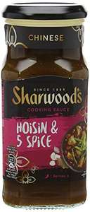Sharwood's Hoisin 5 Spice Sauce Jar - Pack of 6 Jars {~plus many more flavours~} @ Amazon.co.uk [Add-On Item] from £2.53 @ Amazon