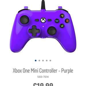 Mini Xbox one controller £19.99 @ Argos