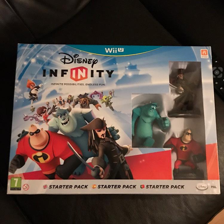 Disney infinity starter pack Wii U. £5 instore @ Poundworld