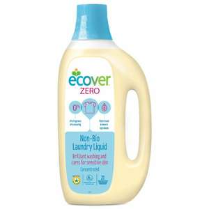 Ecover Zero Laundry Liquid 1.5 Litre - For sensitive skin £3.50 @ Amazon (Add on item)