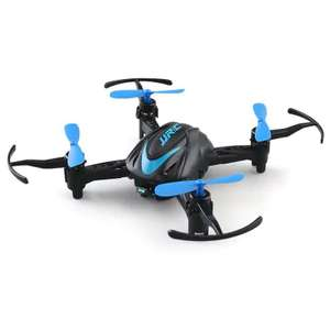 JJRC H48 2.4GHz 4CH Micro RC Quadcopter - RTF  -  BLUE & BLACK - £6.84 + FREE Delivery @Gearbest