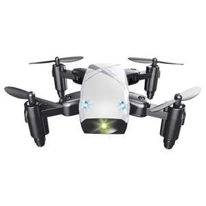 S9 Micro Foldable RC Drone - RTF - STANDARD VERSION - WHITE - £7.60 + FREE Delivery @ Gearbest