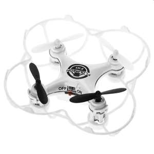Floureon F10 Mini RC Quadcopter UFO Headless Mode - WHITE - £7.60 + FREE Delivery @ Gearbest