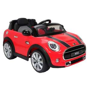 Really nice offer for this Red Mini Hatch 6V Electric Ride On £79.99 @ Smyths