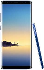 Samsung Note 8 Smartphone (16.05 cm (6,3 Zoll) Dual Edge Display, 64 GB Speicher, Android 7.1) Deepsea Blue  £703 delivered @ Amazon DE
