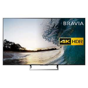 "Sony Bravia KD55XE8596 LED HDR 4K Ultra HD Smart Android TV, 55"" + FREE UBP-X800 Blu-Ray/DVD Player £879 @ John Lewis"