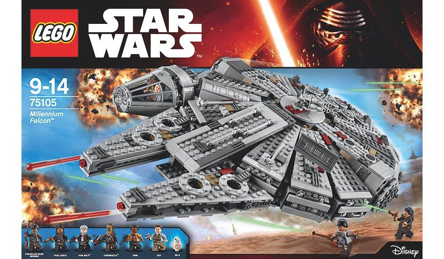 LEGO Star Wars - Millennium Falcon - 75105 £66 @ Asda