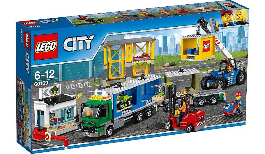 Lego City 60169 Cargo Terminal £33 Asda George Direct