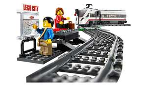 Lego High Speed Passenger Train 60051 just £51 Cargo train 60052 just £75 @ Asda