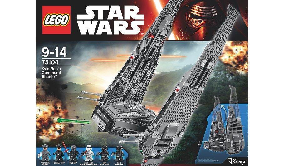 Lego Star Wars Kylo Ren shuttle £45 @ Asda
