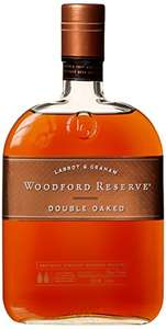 Woodford Reserve Double Oaked Whisky 70 cl £32 @ Amazon