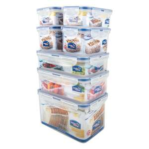 Lock & Lock Food Container Pack - 7 piece set £12.50 reduced from £25 @ Ocado