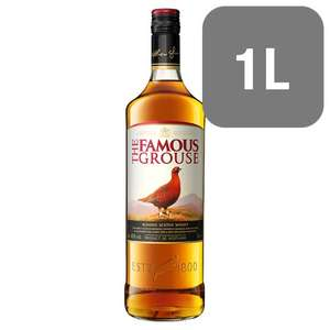 The Famous Grouse Scotch Whisky 1 Litre now £16 @ Tesco was £19.50