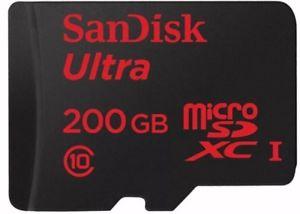 SanDisk Ultra 200GB SDXC UHS-I U1 - 90MB/s £51.99  discounts123ltd ebay