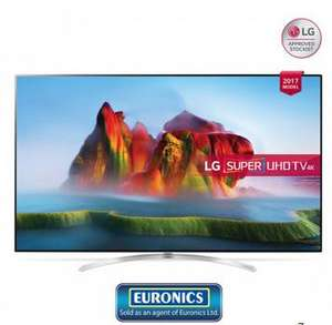 "LG 65SJ850V 65"" 4K Super Ultra HD HDR Smart TV  £1363 at PRC Direct"