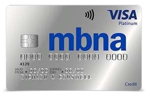 MBNA 37 months 0% interest on money transfers 3.45% fee