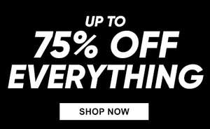 Up to 75% off at I SAW IT FIRST