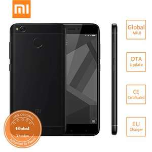Xiaomi Redmi 4X 3GB 32GB Global (B20) Black £110.49 @ Geekbuying [EU warehouse]