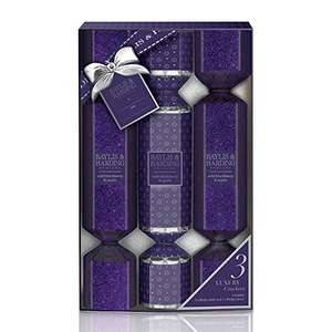 Baylis & Harding Set of 3 Gift Crackers in Wild Blackberry and Apple £2.80 / Baylis & Harding Royale Bouquet Stacking Gift Boxes £4 @ Amazon ( Add On / Minimum Spend £20 items)