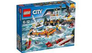 LEGO City - Coast Guard Head Quarters - 60167 £38 at Asda
