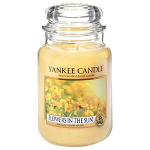 Yankee Candle Large Jar Candle, Flowers in the Sun - £11.99 (Prime) / £16.74 (non Prime) @ Amazon (Sold by My Swift and Fulfilled by Amazon)
