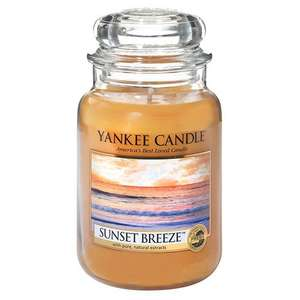Yankee Candle Large Jar Candle, Sunset Breeze -  £11.99 (Prime) / £16.74 (non Prime)  @ Amazon (Sold by My Swift and Fulfilled by Amazon)