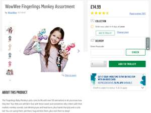 Fingerlings back in stock in argos may help someone looking for one at Argos for £14.99