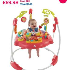 Fisher Price Pink Petals Jumperoo £55.98 - Toys R Us