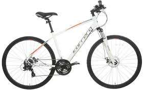 Carrera Crossfire 2 Mens Hybrid Bike - Black or White £320 RRP now £250 local store build at Halfords