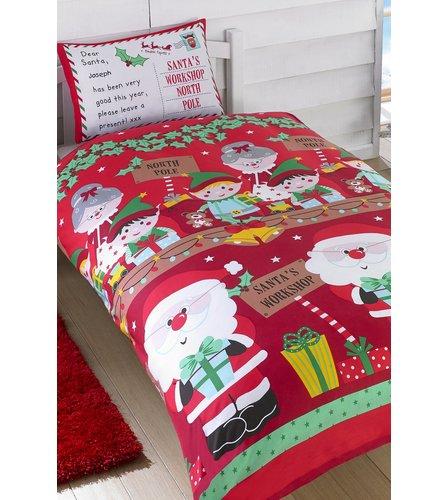 Personalised Christmas duvet set - Studio - £6.99 / £11.98 delivered @ Studio