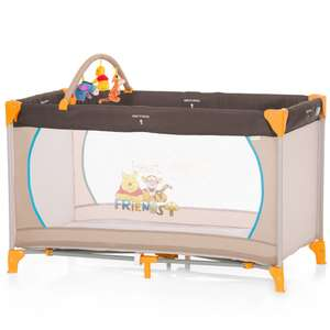 Hauck Winnie the Pooh Dream and Play Travel Cot with toy Bar £23.99 @ Babies R Us / Toys R Us online & instore (applies at checkout)