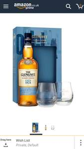 The Glenlivet Founder's Reserve Scotch Whisky with 2 Glasses, 70 cl. £25.90 Amazon deal of the day
