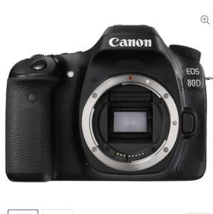 Canon 80d, down £28 to £920 @ Currys