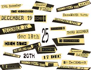 Punk Advent Calendar (new Christmas music every day free to download in MP3 / OGG)