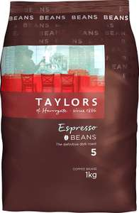 3Kg Taylors of Harrogate Espesso Beans - £27 @ Amazon