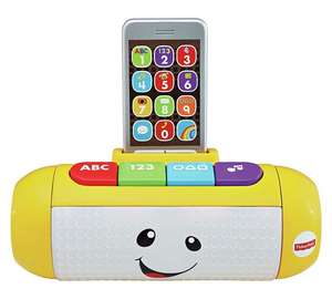 Fisher-Price Laugh & Learn Light Up Learning Speaker with Rattle Phone was £17.99 now £9 C+C @ Argos