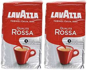Lavazza Qualita Rossa Roast and Ground Coffee 1kg. - £8.60 (Prime) £13.35 (Non Prime) @ Amazon